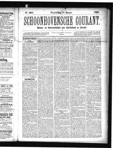 Schoonhovensche Courant 1896-03-18