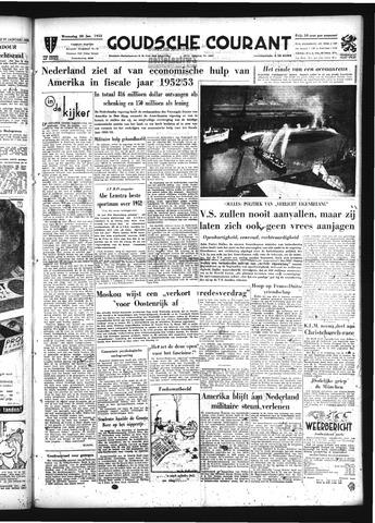 Goudsche Courant 1953-01-28
