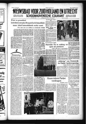 Schoonhovensche Courant 1955-03-25