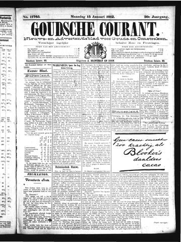 Goudsche Courant 1912-01-15