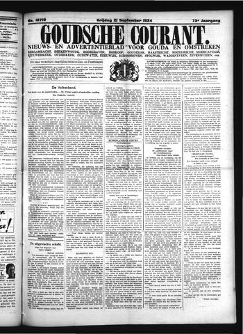 Goudsche Courant 1934-09-21
