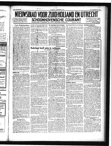Schoonhovensche Courant 1947-09-01