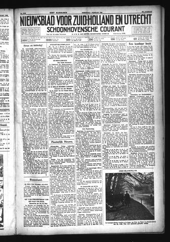 Schoonhovensche Courant 1933-02-01