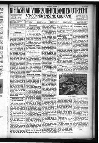 Schoonhovensche Courant 1932-06-01