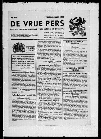 De Vrije Pers 1945-06-08