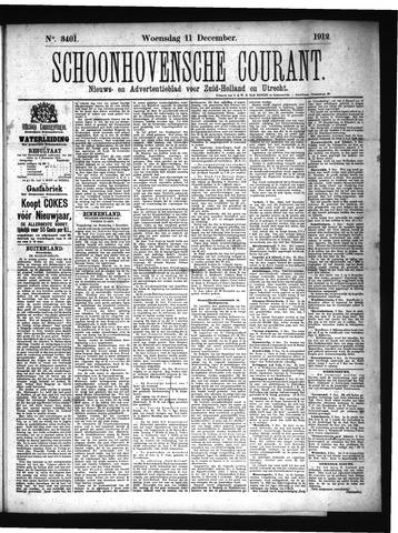 Schoonhovensche Courant 1912-12-11