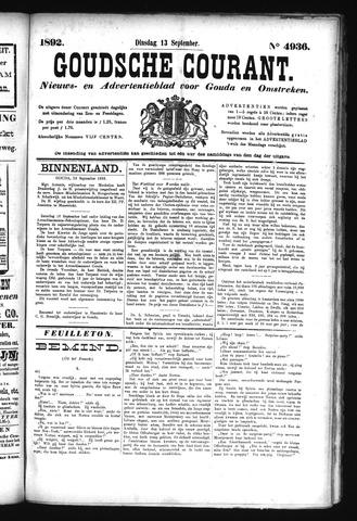 Goudsche Courant 1892-09-13