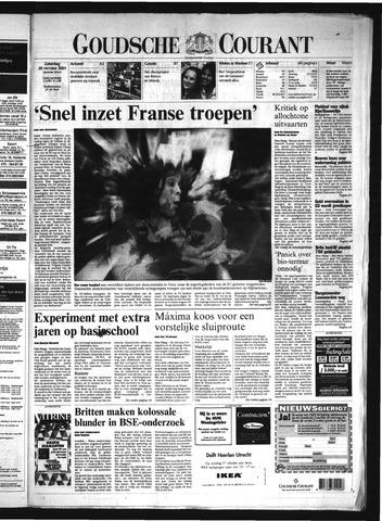 Goudsche Courant 2001-10-20