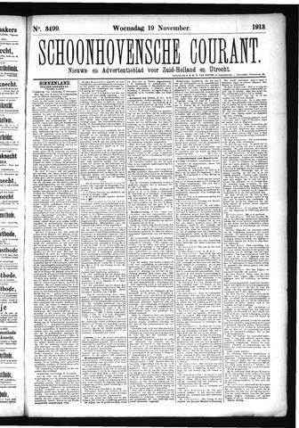 Schoonhovensche Courant 1913-11-19