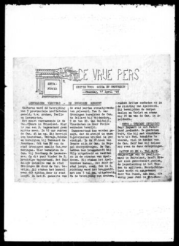 De Vrije Pers 1945-04-16