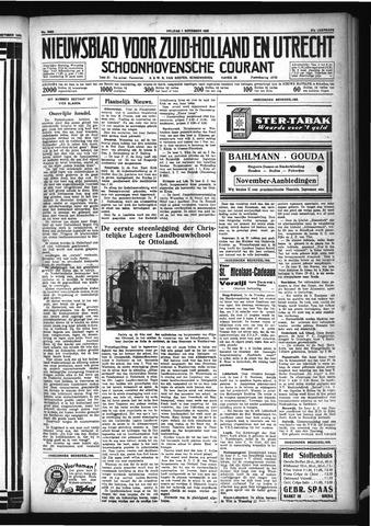 Schoonhovensche Courant 1929-11-01