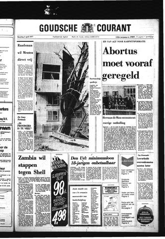 Goudsche Courant 1977-04-04