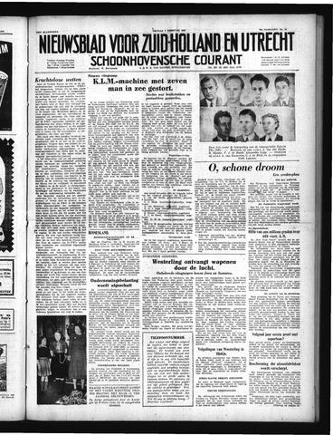 Schoonhovensche Courant 1950-02-03