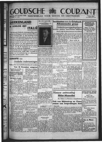 Goudsche Courant 1940-10-28