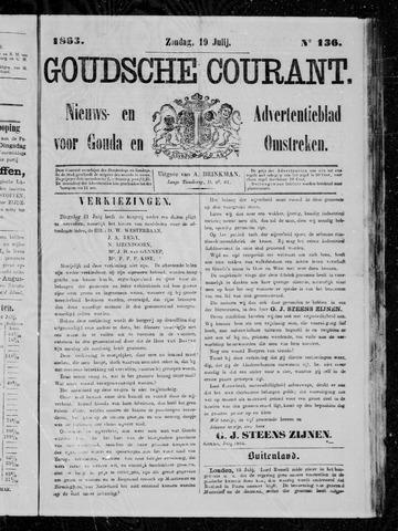 Goudsche Courant 1863-07-19
