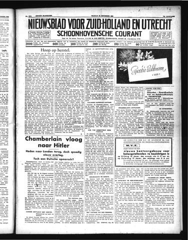 Schoonhovensche Courant 1938-09-16