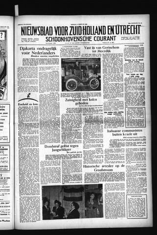 Schoonhovensche Courant 1956-02-24