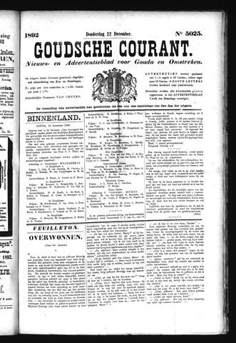 Goudsche Courant 1892-12-22