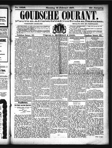 Goudsche Courant 1917-02-12