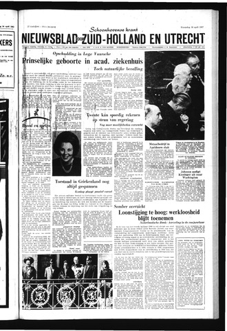 Schoonhovensche Courant 1967-04-26