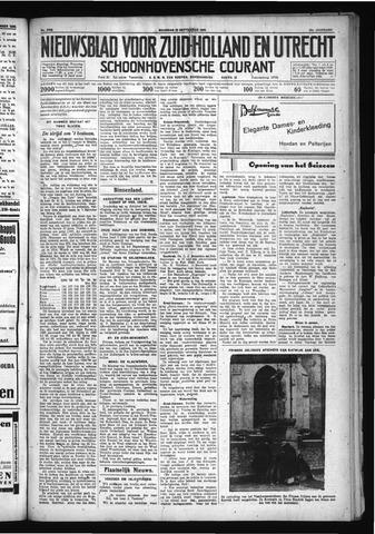 Schoonhovensche Courant 1930-09-22
