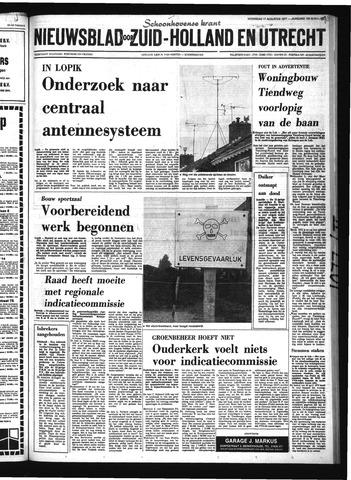 Schoonhovensche Courant 1977-08-17
