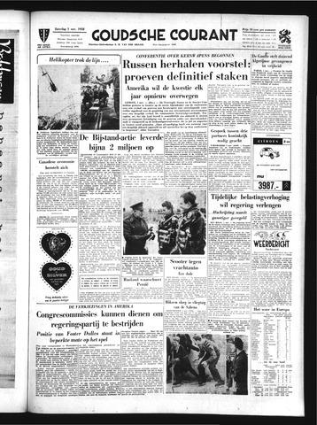 Goudsche Courant 1958-11-01