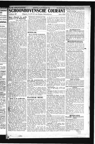 Schoonhovensche Courant 1944-11-21