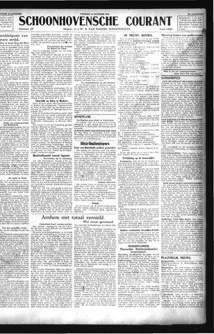 Schoonhovensche Courant 1944-10-13