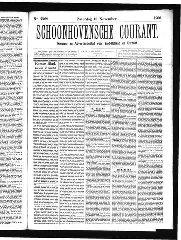 Schoonhovensche Courant 1906-11-10