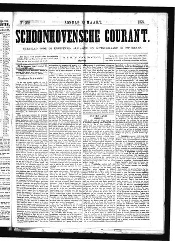 Schoonhovensche Courant 1875-03-28