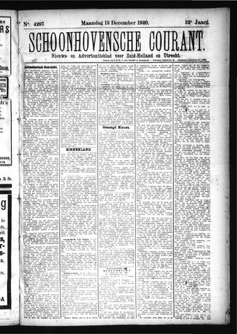 Schoonhovensche Courant 1920-12-13