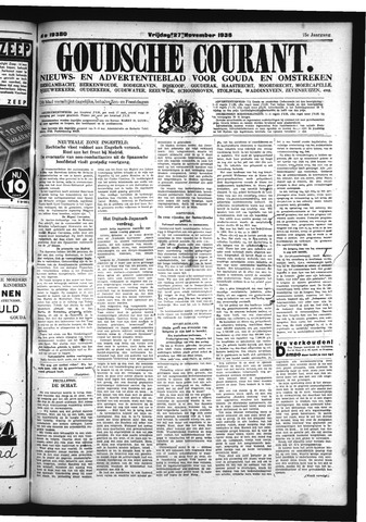 Goudsche Courant 1936-11-27
