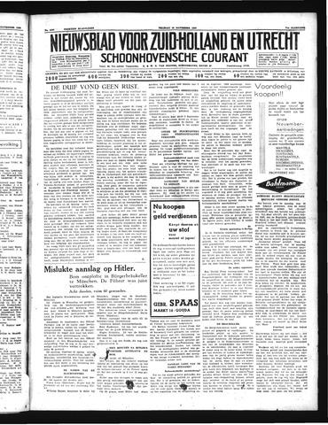 Schoonhovensche Courant 1939-11-10