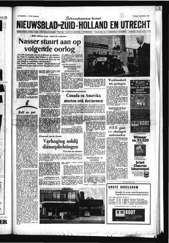 Schoonhovensche Courant 1969-11-07