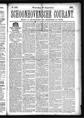 Schoonhovensche Courant 1893-09-20