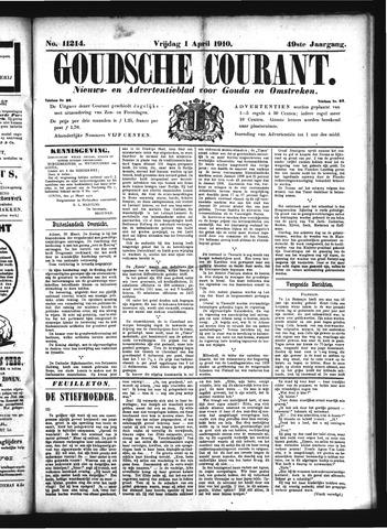 Goudsche Courant 1910-04-01