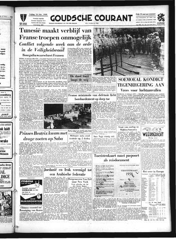 Goudsche Courant 1958-02-14