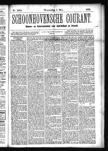 Schoonhovensche Courant 1901-05-01