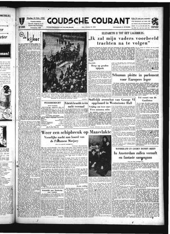 Goudsche Courant 1952-02-12