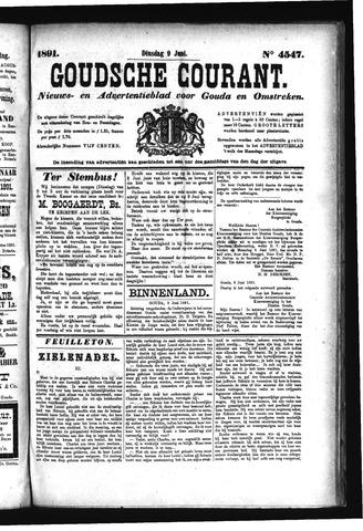 Goudsche Courant 1891-06-09