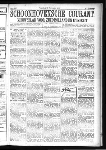 Schoonhovensche Courant 1925-11-23
