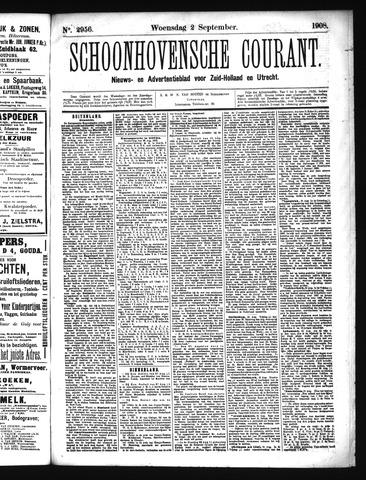 Schoonhovensche Courant 1908-09-02