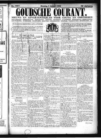 Goudsche Courant 1932-01-05