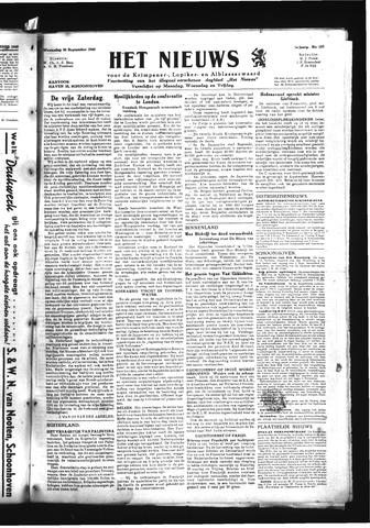 Schoonhovensche Courant 1945-09-26
