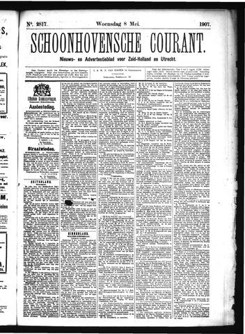 Schoonhovensche Courant 1907-05-08