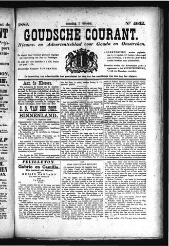 Goudsche Courant 1889-10-01