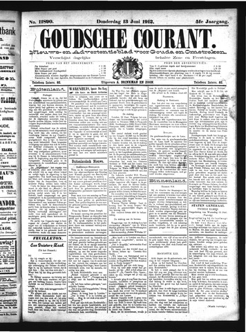 Goudsche Courant 1912-06-13