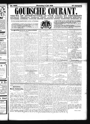 Goudsche Courant 1928-07-11