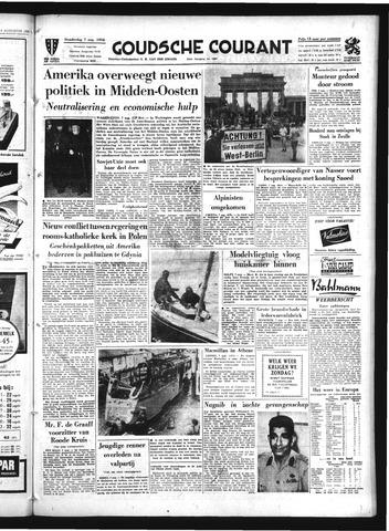 Goudsche Courant 1958-08-07